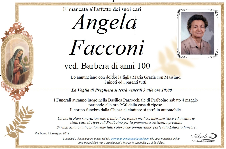 ANGELA FACCONI - PRALBOINO
