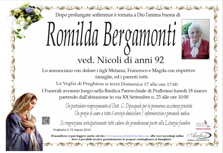 ROMILDA BERGAMONTI