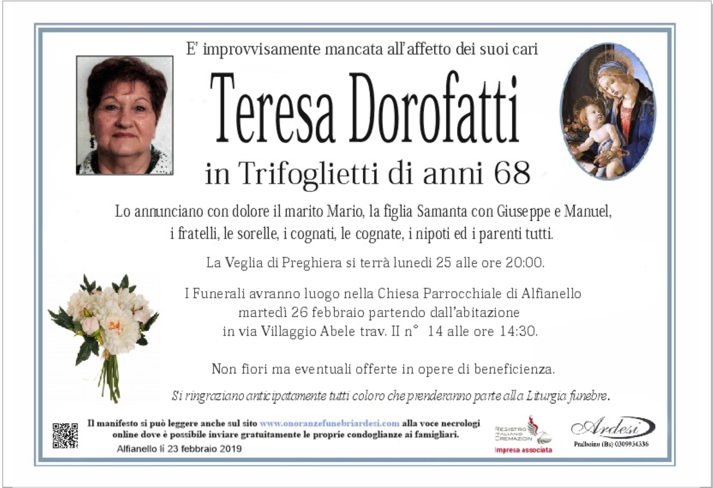 TERESA DOROFATTI - ALFIANELLO