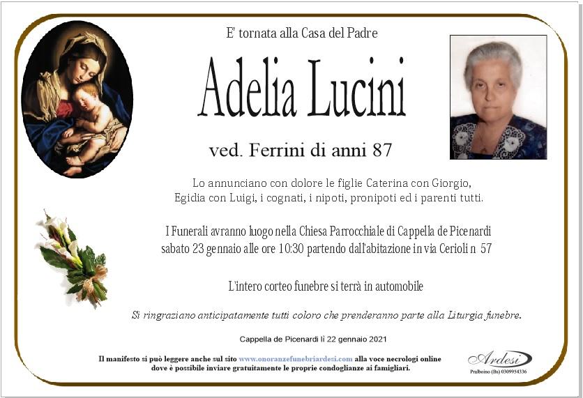 ADELIA LUCINI - CAPPELLA DE PICENARDI