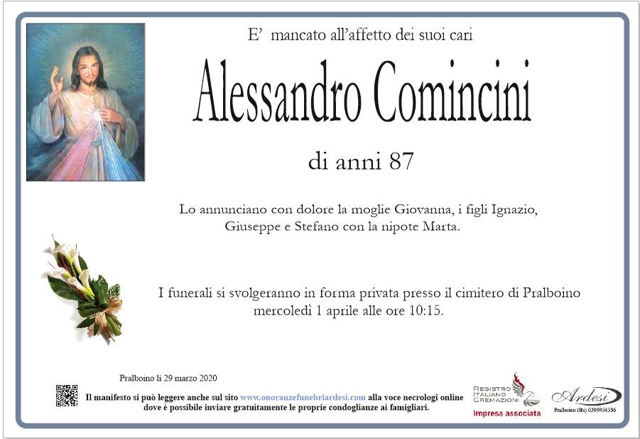 ALESSANDRO COMINCINI - PRALBOINO