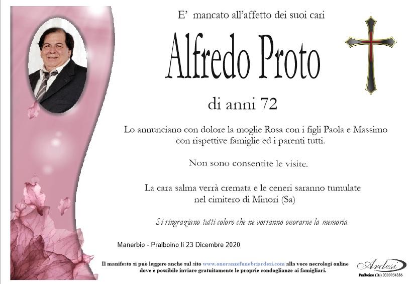 ALFREDO PROTO MANERBIO - PRALBOINO