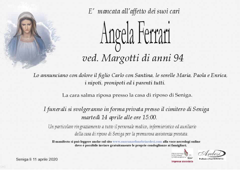 ANGELA FERRARI - SENIGA
