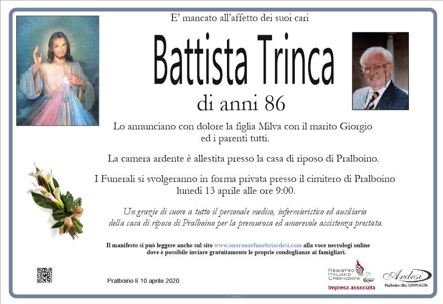 BATTISTA TRINCA - PRALBOINO