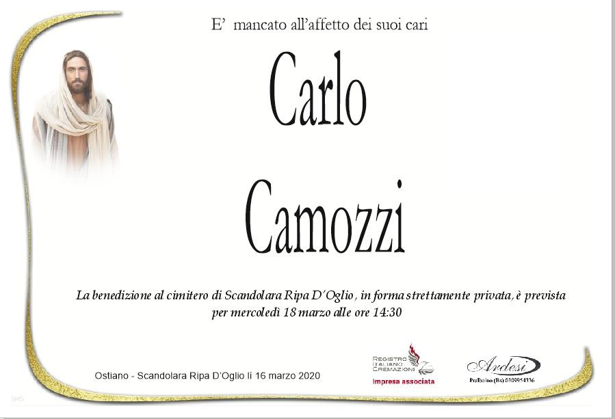 CARLO CAMOZZI - OSTIANO SCANDOLARA RIPA D'OGLIO