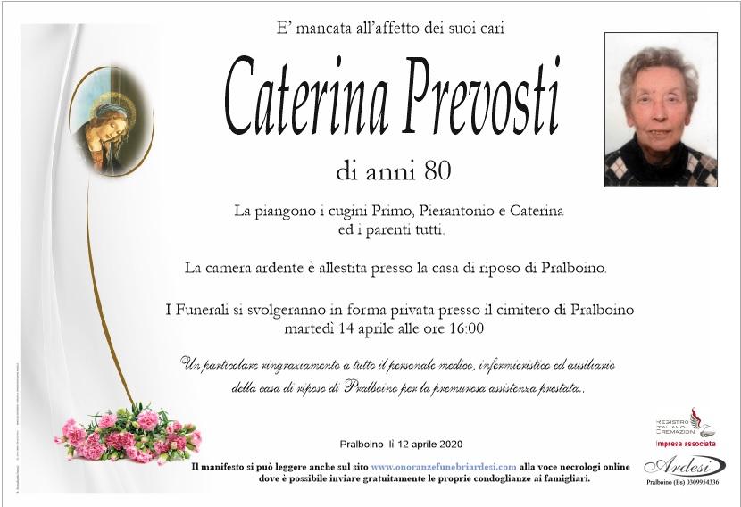 CATERINA PREVOSTI - PRALBOINO