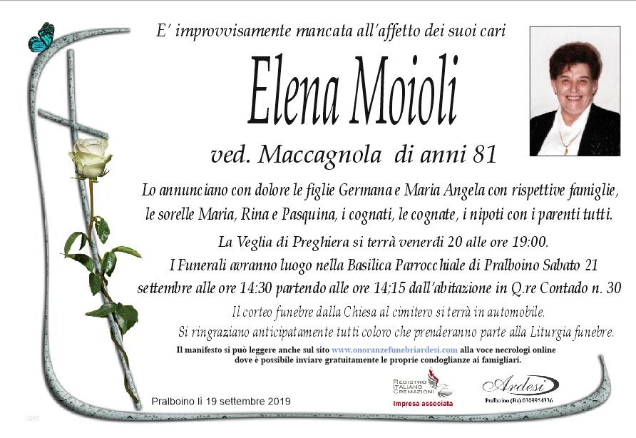 ELENA MOIOLI - PRALBOINO