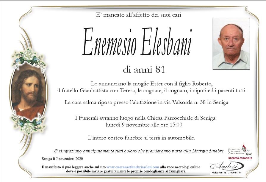 ENEMESIO ELESBANI - SENIGA