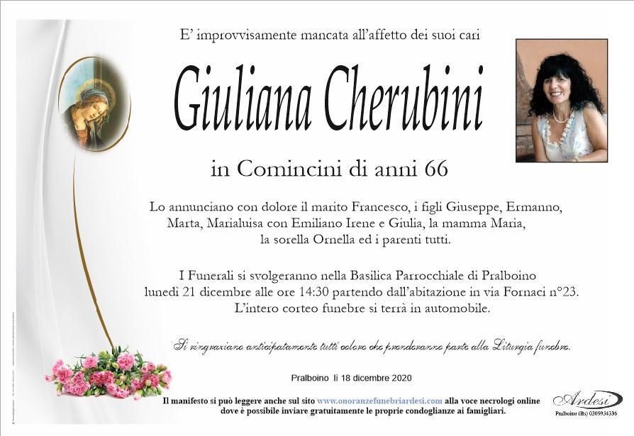 GIULIANA CHERUBINI - PRALBOINO