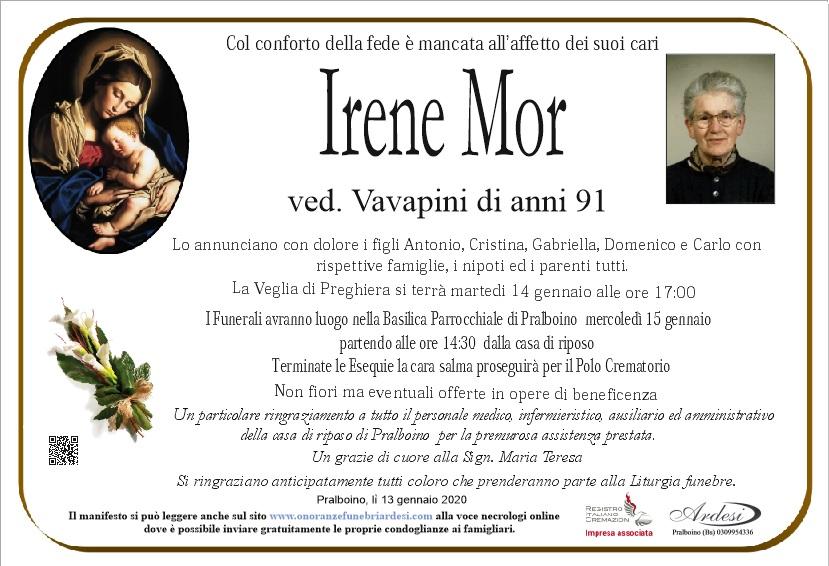 IRENE MOR