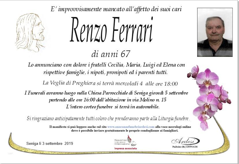 LORENZO FERRARI - SENIGA