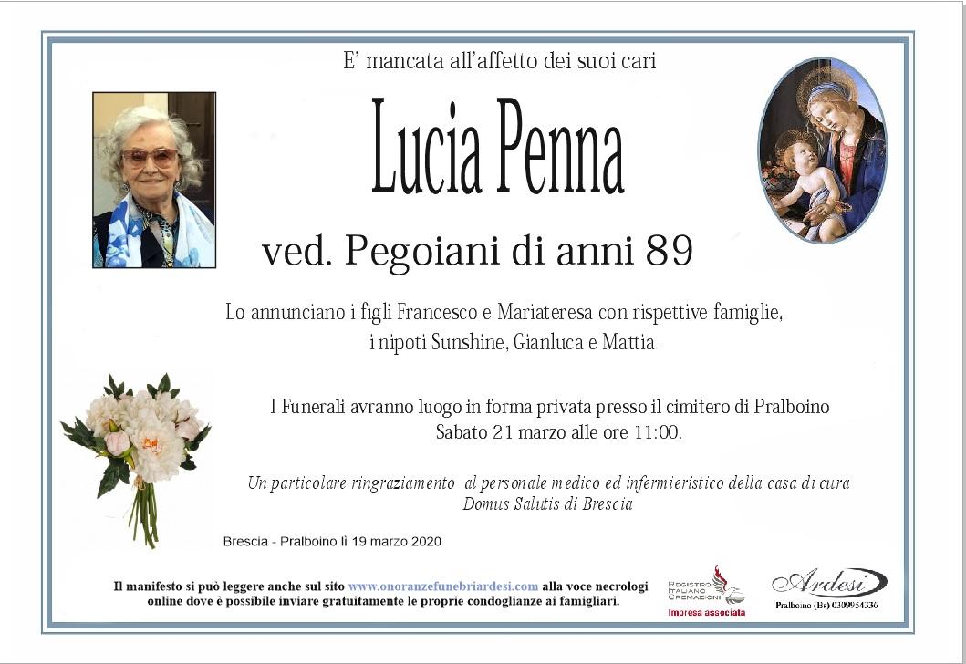 LUCIA PENNA - BRESCIA PRALBOINO