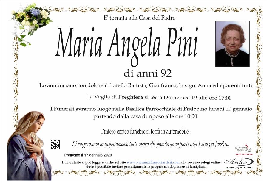 MARIA ANGELA PINI - PRALBOINO