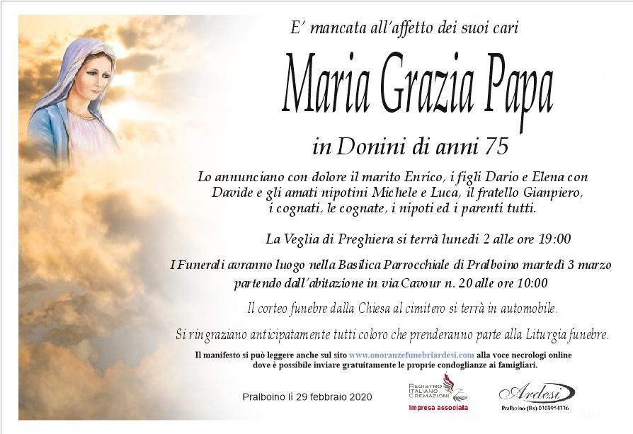 MARIA GRAZIA PAPA - PRALBOINO
