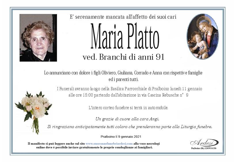 MARIA PLATTO - PRALBOINO
