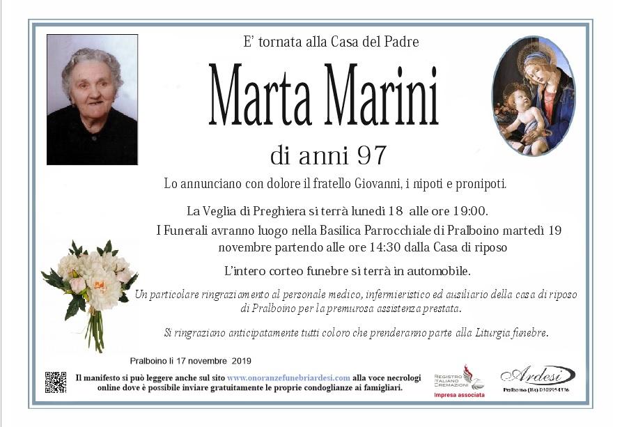 MARTA MARINI - PRALBOINO