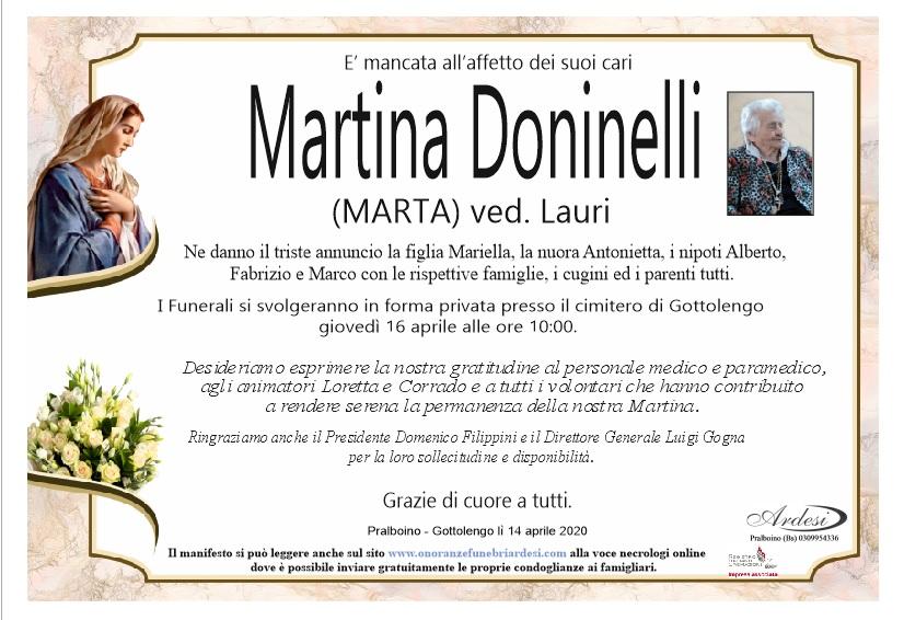MARTINA DONINELLI PRALBOINO- GOTTOLENGO