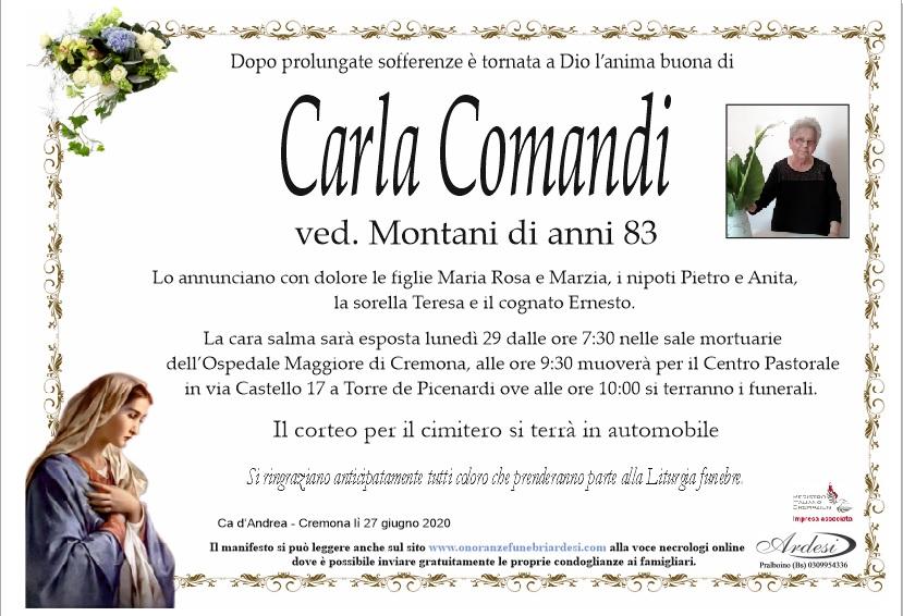 CARLA COMANDI - CA D'ANDREA TORRE DE PICENARDI