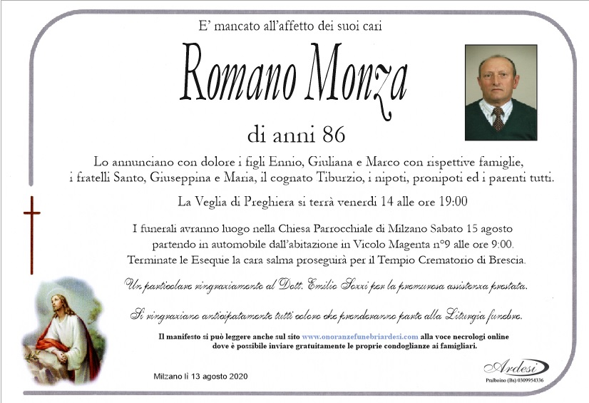 ROMANO MONZA - MILZANO