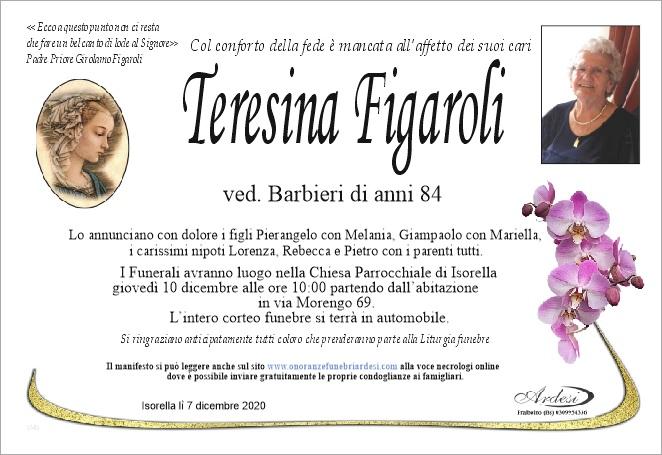 TERESINA FIGAROLI - ISORELLA